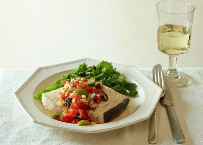 Vegan Dishes with Wine